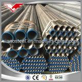 La luz de BS1387 En10255/el tubo de acero galvanizado sumergido caliente del tubo medio/pesado de la clase ERW que roscaba el tubo con el acoplador acanaló el tubo hecho por Tianjin Youfa