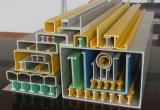 Tubo redondo y cuadrado del perfil de Pultruded de la fibra de vidrio de GRP FRP, tubo, barra