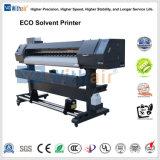 Imprimante jet d'encre imprimante grand format numérique de 1,8 m de l'éco Solventprinter pour le Vinyle bannière