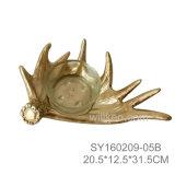 Поднос нового Antler оленей смолаы декоративный
