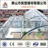 Fabrik-Großverkauf-Polycarbonat-festes Blatt für Gewächshaus