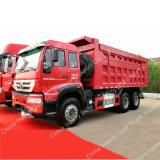Sinotruk Swz10 336HP 6X4 덤프 트럭 팁 주는 사람 트럭