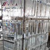 Moderner Luxuxkristallkerze-hängende Lampen-Leuchter für Hotel