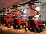 L'essieu duel quatre fois la tour légère mobile hydraulique de C.C DEL