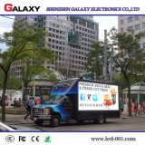 Visualización de LED con eficacia a todo color del coche/de los carros/el panel/pantalla/cartelera de P6/P8/P10 para la publicidad móvil