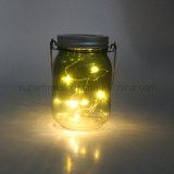 Maurer-Glas-Solargarten-Licht heißes des Sommer-Produkt-nachladbares Funkeln-LED