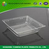 Широко используемый квадратный одноразовый пластиковый лоток для овощей и фруктов