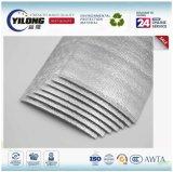 Premier matériau d'isolation en plastique de bulle de papier d'aluminium