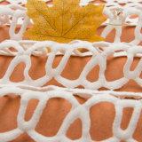 Venda por grosso de fios Tingidos de rendas de africanos tecidos bordados, rendas de malha 3D Fabric