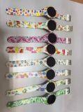 플라스틱 상자 및 악대 일본 운동 방수 디지털 LED 공상 시계
