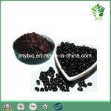 高蛋白の黒い大豆の外皮のエキス、アントシアニン5%-25%