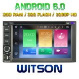 Witson Octa-Core (Eight Core) DVD de voiture Android 6.0 pour Universal Double DIN 2g ROM 1080P Touch Screen 32 Go ROM