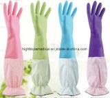 Перчатки PVC повторного пользования хорошего качества