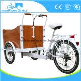 Bicicleta de carga eléctrica o de pedal con certificado CE