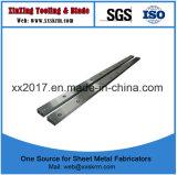 Las hojas de Guillo Slitter triple cuchilla cortadora longitudinal de cuchillas para ventas