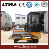 中国のセリウムの証明書5トンのディーゼル側面のローダーのフォークリフト