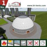 Tienda geodésica de acero de la bóveda de la esfera del diámetro los 5-60m Hlaf para el acontecimiento