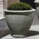 Potenciômetro de flor de cinzeladura de pedra do potenciômetro do jardim (JL-GAR022)