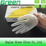 Blaues Reinigungs-Puder frei und pulverisierte Wegwerf-Belüftung-Handschuhe mit Haus-Funktion