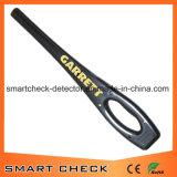 Détecteur de métaux tenu dans la main de garantie de détecteur de métaux de Superwand