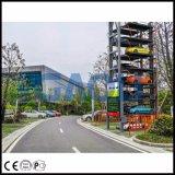 IC 카드와 수동 유형 자동적인 회전하는 차 주차 시스템