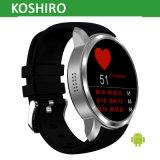 3G relógio esperto do ósmio do Android 5.1 com o cartão da sustentação SIM da frequência cardíaca