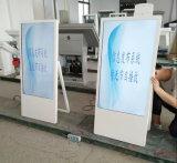43、47、50、55のプレーヤーを広告する65インチのショッピング記憶装置LCDの表示デジタル表記