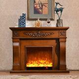 ヨーロッパ式の居間の家具MDFの電気暖炉(324B)