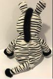 Brinquedos enchidos macios do luxuoso da zebra