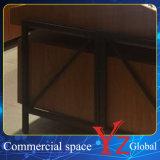 Het Houten Kabinet van de Tentoonstelling van de Glazen van de Showcase van de Glazen van het Kabinet van de Vertoning van glazen (YZ160402)