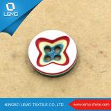 Кнопка рубашки кнопки 4 отверстий пластичная плоская