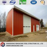 Vertente galvanizada industrial da exploração agrícola do armazém do frame de aço da qualidade