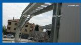 Roulis solaire formant la machine pour la construction