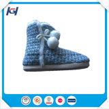 Ботинки дешевой оптовой зимы теплые мягкие крытые для женщин