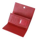 Бумажник 2017 повелительниц PU бумажника женщин типа способа новых красных кожаный длинний