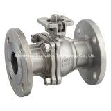 Válvula de esfera flotante de acero inoxidable 2PC ce API