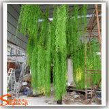Искусственние зеленые валы вербы для напольного украшения