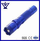 Горячая продажа синего цвета и изумите пистолет самозарядный фонарик (SYSG подвески к поворотному Taser-220)