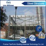 Construcción de viviendas prefabricada de marco de la estructura de acero de 2 suelos