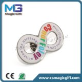 Les ventes à bas prix du métal chaud l'axe d'impression personnalisée avec dôme époxy