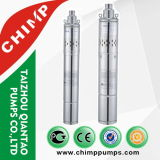 MehrstufenEdelstahl-zentrifugale versenkbare Wasser-Pumpe