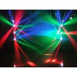 DJ 점화를 위한 소형 RGBW 거미 8X3w LED 이동하는 헤드