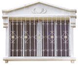 Carril de protección de la ventana del acero labrado/diseño moderno de la parrilla de ventana