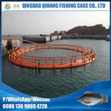 HDPE runder sich hin- und herbewegender Rahmen für Fisch-Züchtung