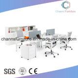 Рабочая станция стола компьютера таблицы офисной мебели высокого качества деревянная