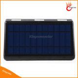 60LED 옥외 태양 안전 벽 램프 태양 강화된 운동 측정기 빛