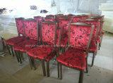 ألومنيوم أحمر [فربيك] يوسّد فندق مطعم [دين رووم] كرسي تثبيت ([ج-ر03])