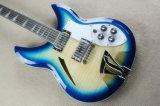 Musique de Hanhai/guitare électrique type bleu de Ricken avec 12 chaînes de caractères
