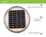 Luminaire de jardin solaire en acier inoxydable à LED, éclairage à clôture solaire, éclairage de nuit solaire LED