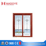 Porte coulissante en verre en aluminium d'usine de Foshan